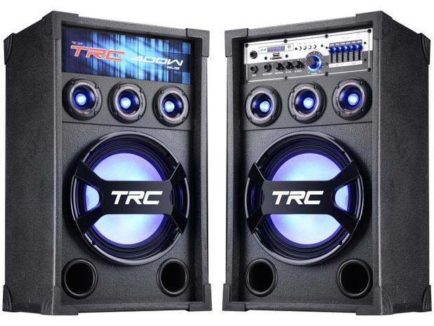 Imagem de Caixa de Som Amplificadora TRC 369 400W Bluetooth