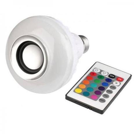 Imagem de Caixa De Som Bluetooth Lâmpada Multi Led WJ-L2