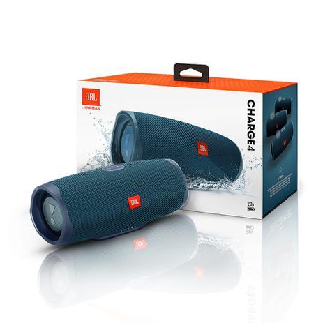 Imagem de Caixa de Som JBL Charge 4 Azul 30w Bluetooth Prova D Agua  JBL