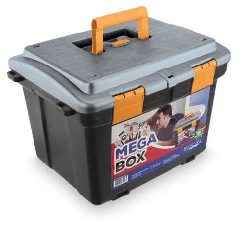 Imagem de Caixa Maleta Organizadora Ferramentas Mega Box 2040 Arqplast