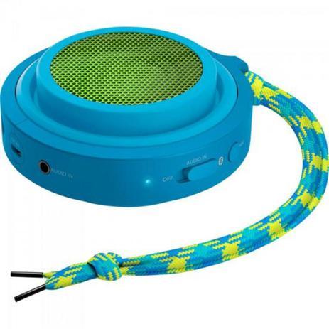 Imagem de Caixa Multimídia 2W Wireless e Bluetooth BT2000A/00 Azul e Verde PHILIPS