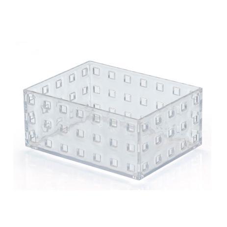 Imagem de Caixa organizadora modular 02 756ml cristal Arthi