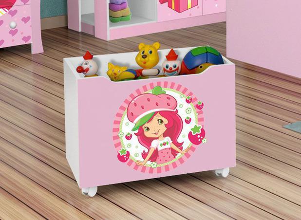 Imagem de Caixa para Brinquedos Lara Moranguinho