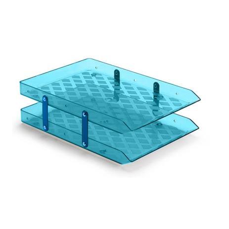 Imagem de Caixa para Correspondência Dupla Móvel Waleu Azul