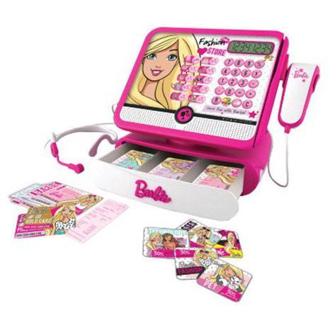 Imagem de Caixa Registradora da Barbie Intek 7274-9