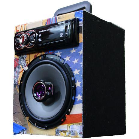 Imagem de Caixa Residencial Radio Bluetooth Usb + Falante 6 Pioneer