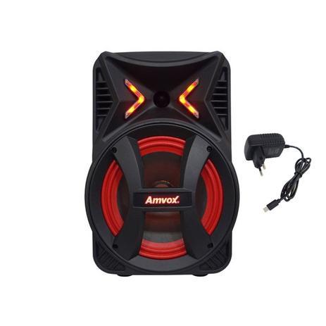 Imagem de Caixa Som Amplificada Portátil Bluetooth 180w Fm Usb Bateria