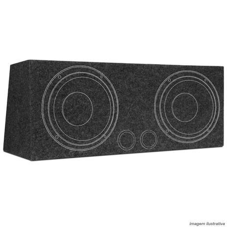 """e30ab2dce27 Caixa Som Dutada 70 Litros Cinza 2 Alto Falantes 12"""" - R-acoustic ..."""