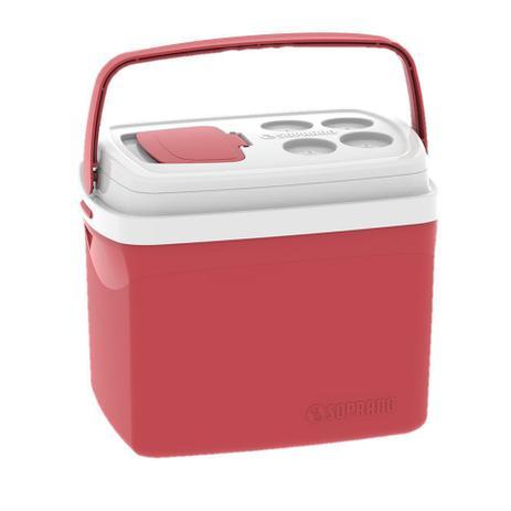 Imagem de Caixa Térmica Cooler Tropical 32 Litros Bebidas e Alimentos - Soprano