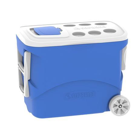 Imagem de Caixa termica tropical c/rodas 50l azul