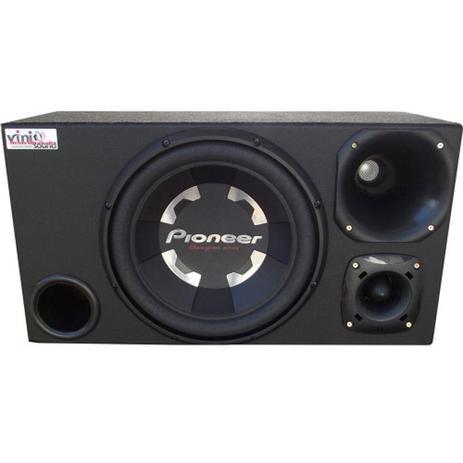Imagem de Caixa Trio Sub Pioneer Ts-W300 400WRMS 12 Pol + D200 + St200