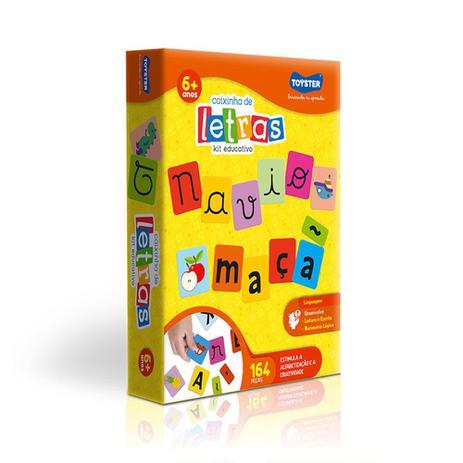 Imagem de Caixinha de Letras Kit Educativo Toyster
