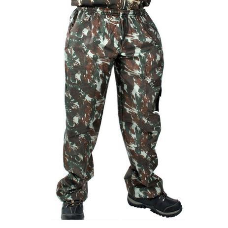Calça Camuflada com Elástico Adulto tamanho M - Mundo do militar ... 32b9c9a1cc22e