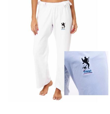 Imagem de Calça Capoeira Em Poliéster - Torah - Adulto