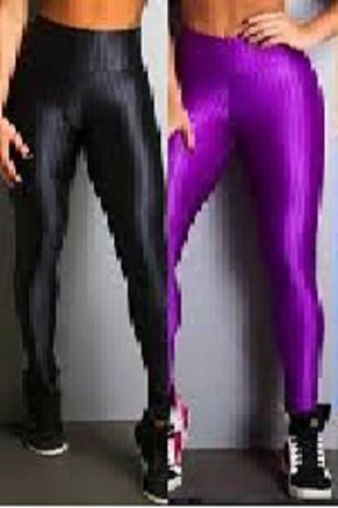 Imagem de Calça Fitness Legging 3d Cirrê Academia leg moda academia fitnes