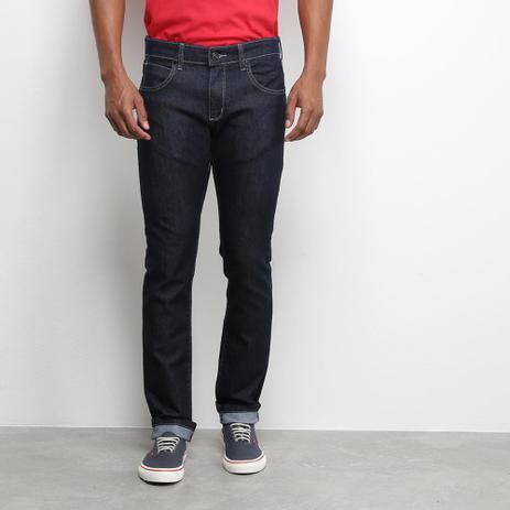 Imagem de Calça Jeans Slim Wrangler Lavagem Clássica Masculina