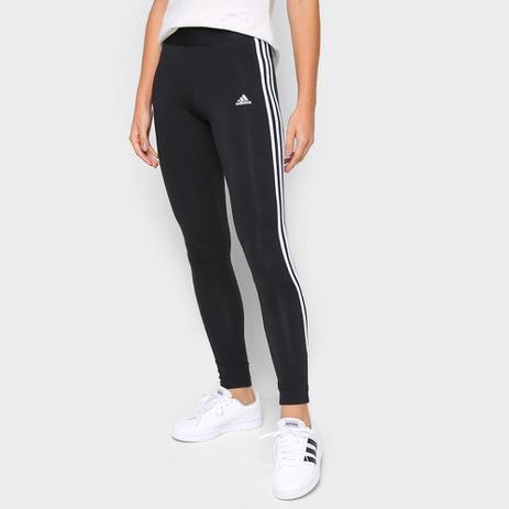 Imagem de Calça Legging Adidas 3 Listras Feminina