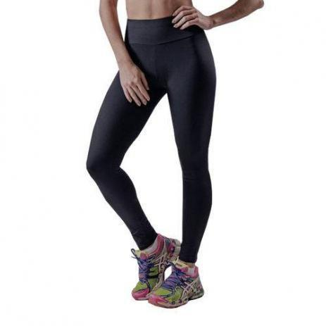 sito affidabile 23aab 3e18b Calça Legging Fitness Suplex Grosso Lisa Cintura Alta - Preta GG - Bcs