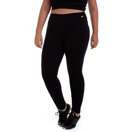 75d1b2efbbdb Calça legging suplex plus size preto best fit - Calça Feminina ...