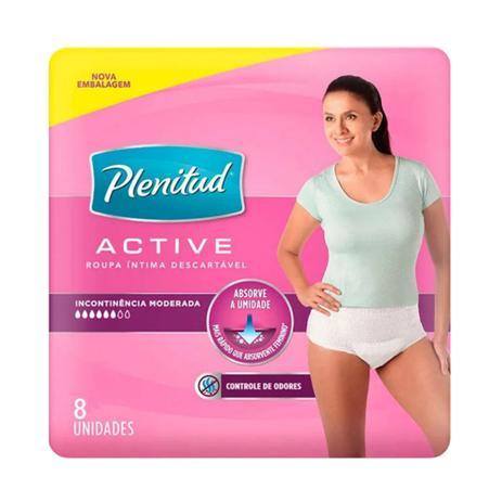 73478efab Calcinha Descartável para Incontinência Urinária Active Mulher Plenitud 8  Unidades