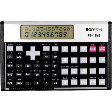 Imagem de Calculadora Cientifica 240 Funcoes 12DIG.VISOR 2 LINH (6952525800129)