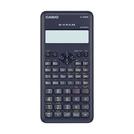 Imagem de Calculadora Científica Cásio 12 Dígitos 240 Funções Grande Preta