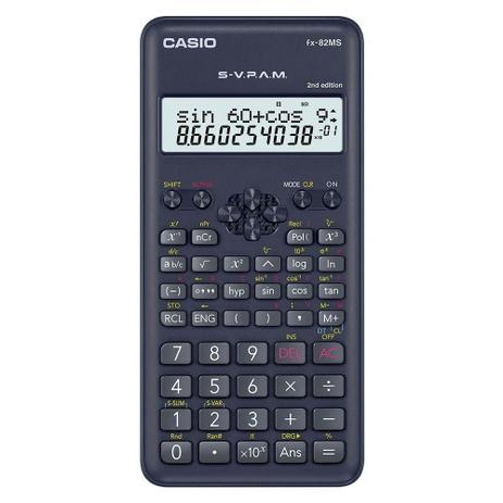 Imagem de Calculadora Científica Casio FX-82MS - 240 Funções