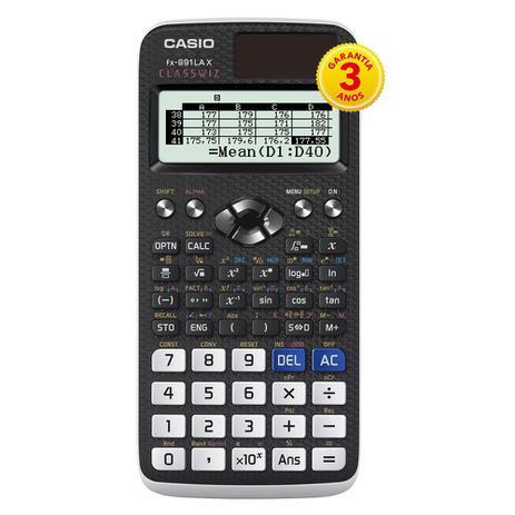 Imagem de Calculadora Cientifica Casio Mod.Fx-991lax-Bk Casio