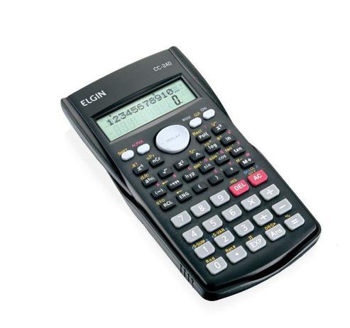 Imagem de Calculadora Científica Cc240 Com 240 Funções E 2 Linhas - Elgin