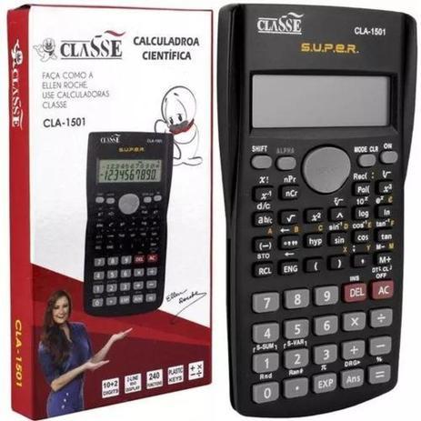 Imagem de Calculadora Cientifica De Bolso CLA-1501 - Classe
