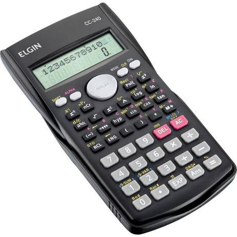 Imagem de Calculadora Científica Elgin Com 240 funções