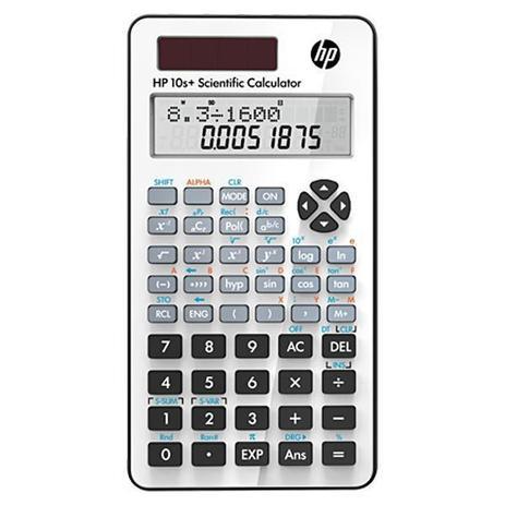 Imagem de Calculadora Científica HP 10+ com 240 Funções - Branca/Preta