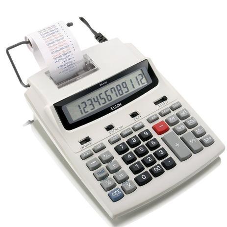 Imagem de Calculadora de Mesa MR6125 c/ Bobina Bivolt - Elgin