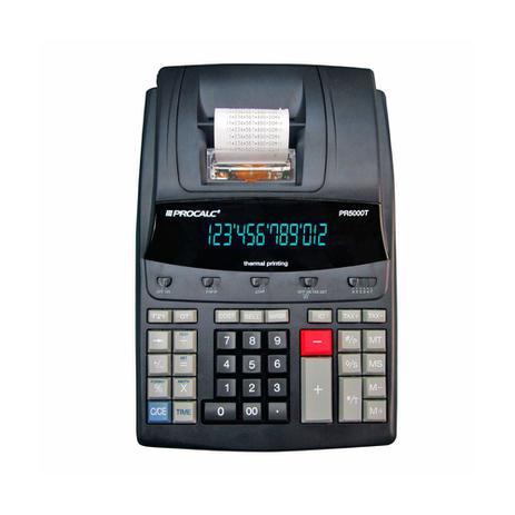 Imagem de Calculadora de Mesa Procalc PR5000T 12 Digitos Impressao Termica