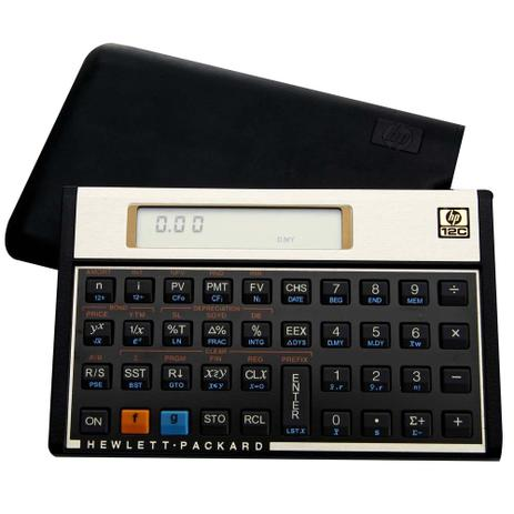 7e091a724 Calculadora Hp 12c Gold - Financeira - Visor Lcd 120 Funções ...