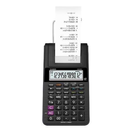 Imagem de Calculadora Mesa 12 Dígitos com Bobina Casio HR8RC