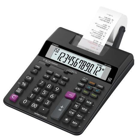 Imagem de Calculadora mesa c/impress. hr-150rc  casio