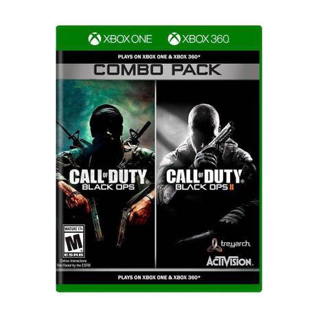 Call of Duty: Black Ops 1 + Call of Duty: Black Ops II (Combo Pack) - Xbox  360 - Microsoft