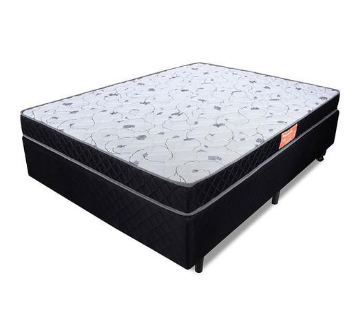 Imagem de Cama Box Casal (Box + Colchão) Espuma D33 Anti Alérgico BF Colchões 138x188x54cm