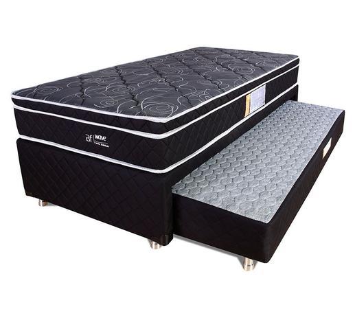 24ef78b931 Cama Box Solteiro (Box + Colchão) Molas Ensacadas Com Pillow Bicama BF  Colchões 88x188x58cm