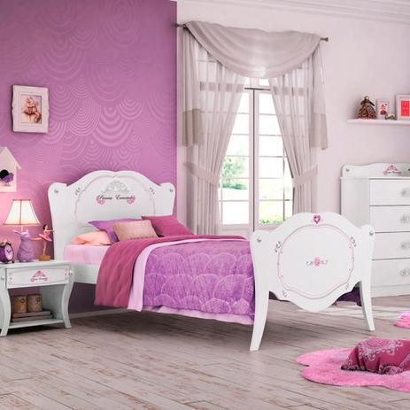 Cama infantil princesa encantada clean pura magia cama - Camas infantiles de princesas ...