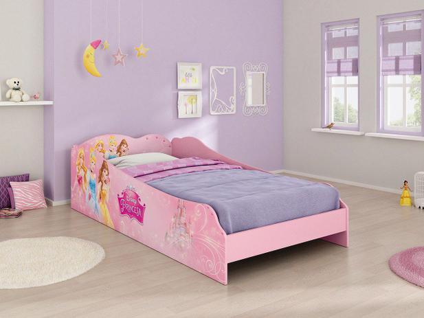 Cama infantil princesas disney plus pura magia cama - Camas infantiles de princesas ...