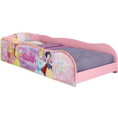 66ce294df0 Cama Infantil Princesas Disney Plus Rosa - Pura Magia - Cama ...