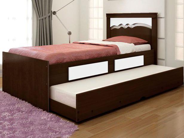 Cama solteiro 88x188cm 2 gavetas cama auxiliar conquista - Mesa auxiliar de cama ...