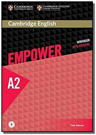 Imagem de Cambridge english empower elementary wb with answs