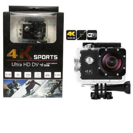 Imagem de Câmera 4k Ultra Hd Fullhd Sports 4k Wifi - Prova D'água