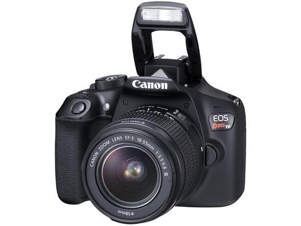 Imagem de Câmera Digital Canon EOS Rebel T6 18MP