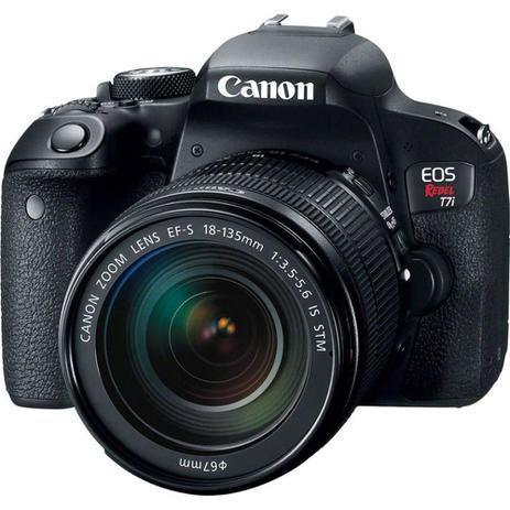Imagem de Câmera DSLR Canon EOS Rebel T7i, 24.2MP, 3