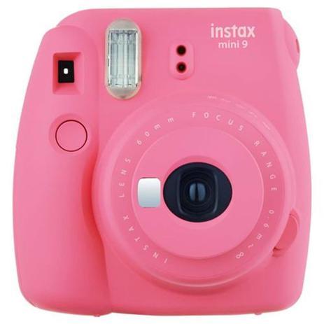 Imagem de Camera Instantanea Fujifilm Instax Mini 9 cor-rosa flamingo