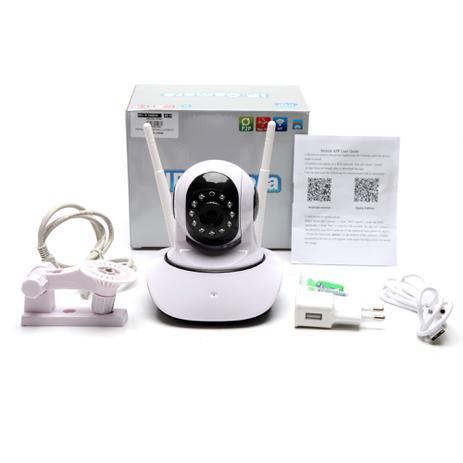 Camera Ip 1 3 Mp Alta Resolução Hd 720 P2p Noturna Wireless App CAMHI - Hamy